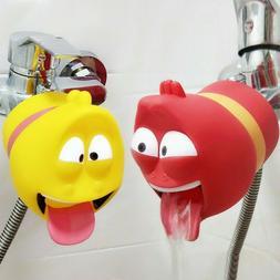 Bath Toy fun water baby kids hand washing shower Extender ba