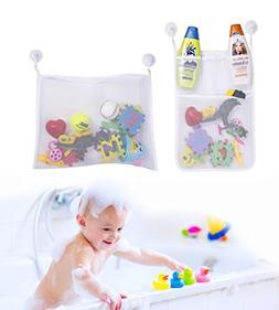 Boxiki kids Bath Toys Organizer & Toy Holder | Mesh Shower C