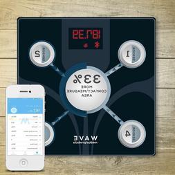Digital LCD Bathroom Scale Body Fat Weight Watchers Electron