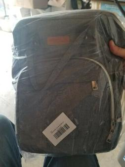 Bed Bath And Beyond DIAPER Bag backpack Large Gray