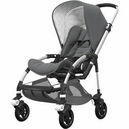 Bugaboo Bee5 Classic Complete Stroller - Aluminum/Grey Méla