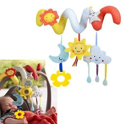 Big Size Baby Rattle Activity Spiral Stroller Car Seat Trave