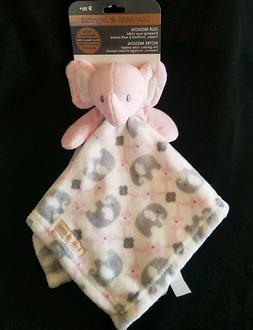 Blankets and Beyond Pink Elephant Security Blanket Lovey Gra
