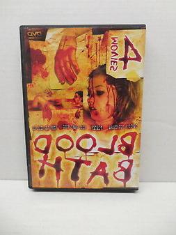 Blood Bath DVD 4 Movie Pack Devil's Nightmare Pieces Kill Ba