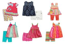BLOWOUT NWT Infant Girl 2-piece Shorts Leggings Capri Summer