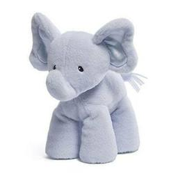 BABY GUND BLUE BUBBLES MEDIUM PLUSH ELEPHANT STUFFED ANIMAL
