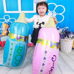 BOY GIRL Shower Feeding Bottle Foil Balloon Aluminum Baloon