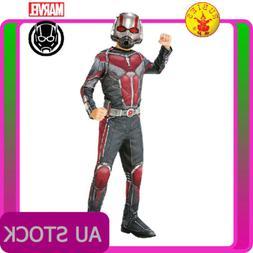 Boys Antman Costume Fancy Dress Kids Superhero Marvel Child