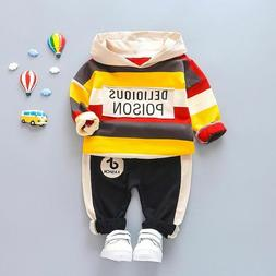 Boys Clothes Sets Spring Autumn Baby Formal Hoodies Outfits