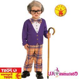 Boys Grandpa Little Old Man Geezer Child Costume Kids 100 Da