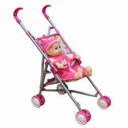 Brand New Fun Toddler Kid Connection Baby Stroller Play Set-