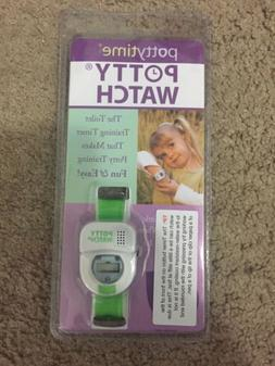 Brand New in Package Potty Time Potty Watch Green Toilet Tra