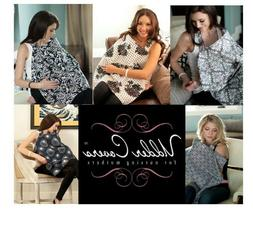 UDDER COVERS Breastfeeding Nursing Privacy Cotton Cover Blan