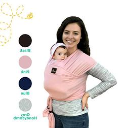 Natural & Breathable My Honey Wrap Lightweight Baby Carrier