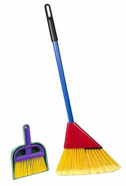 Broom Toy Cleaning Set for Toddler Broom Dust Pan and Hand B