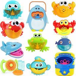 Bubble Machine Crab Frog Automatic Bubble Maker Blower Music