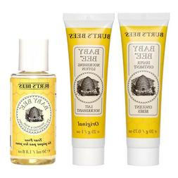 BURT'S BEES*  Bath+Body BABY BEE Infant Care TRAVEL SIZE New