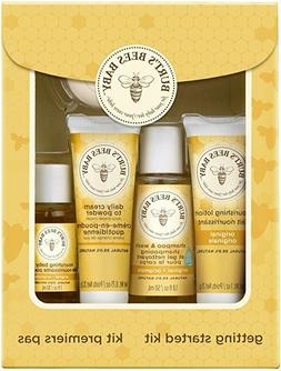 Burt's Bees Baby Getting Started Gift Set 5 Trial Size Baby