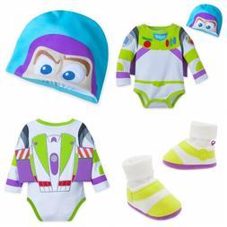 Disney Store Buzz Lightyear Baby Bodysuit Shoes Boy Toy Stor