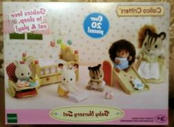 CALICO CRITTERS CC1750 BABY NURSERY SET BEAUTIFULLY DESIGNED