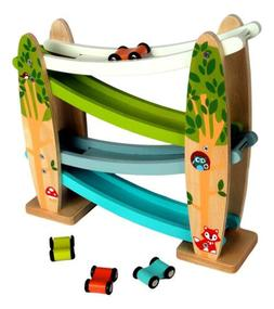 Car Ramp Wooden Educational Toy by Applesauce