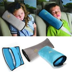 Car Seat Belt Pillow Pads Harness Safety Shoulder Strap Cove
