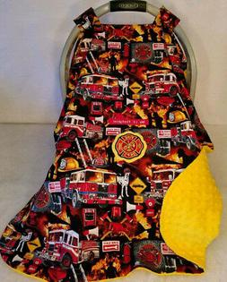 car seat canopy fire fighter baby