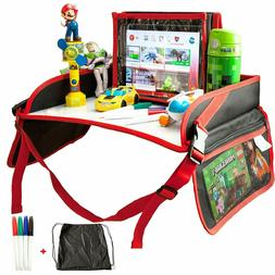 Car Seat Play Table Board Kids Travel Tray for Snack Waterpr
