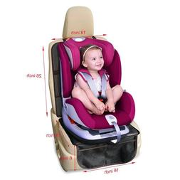 Car Seat Protector with Thickest Padding Waterproof 600D Fab