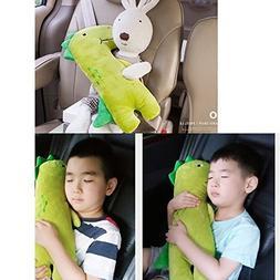 Car Seat Strap Belt Cushion Pillow Cover Doll Kid Children P