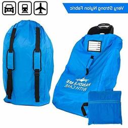 Car Seat Travel Bag for Airplane Baby Carseat Gate Check Bag