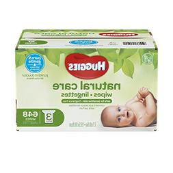 Huggies Natural Care Unscented Baby Wipes, Sensitive, Hypoal