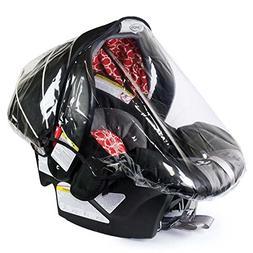Rainbow Design Infant Carrier Car Seat Rain & Weather Plasti