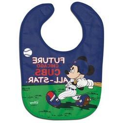 Chicago Cubs Baby Bib Disney Mickey Mouse Feeding Infant MLB