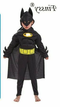Child BATMAN New Fancy Dress Costume Boys 2020 Design Book W