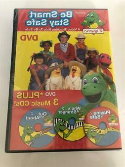 Child Safety DVD/CD Set By Lil' Iguana BE SMART BE SAFE Bran