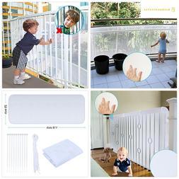 Adsoner Child Safety Net - 10ft L x 2.5ft H, Balcony, Patios