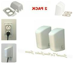 Child Safety Plug and Outlet Covers 2-pack Baby Proofing Pre