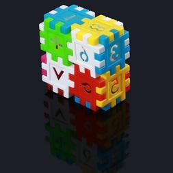 Children Building Construction Plastics Multicolor Kids Toy