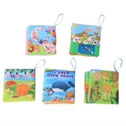 Children Intellectual Fabric Cloth Book Cognize Baby Educati