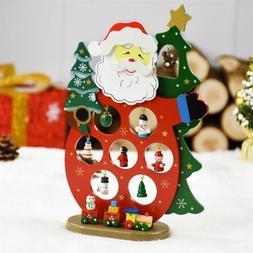 Children Room Decor Birthday Gift Wooden Snowman Toy with Cu