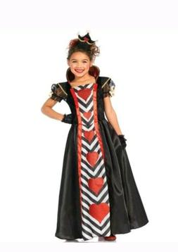 Children's Queen of Hearts 3 PC Halloween Costume Small 4-6