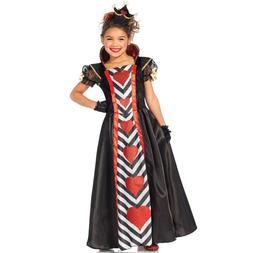 Children's Queen of Hearts 3 PC Halloween Costume Medium 7-1