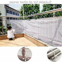 Children Safety Outdoor Rail Balcony Stairs Net Banister For