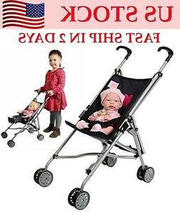 "Christmas Gift for Kid Play 18"" Baby Dolls Stroller Boy Girl"