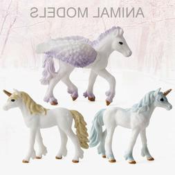 Classic Animal Unicorn Tianma Statue Model Toy Children's At