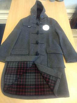 Gloverall Classic Henry Child's Duffle Coat, Grey Ages 4-1