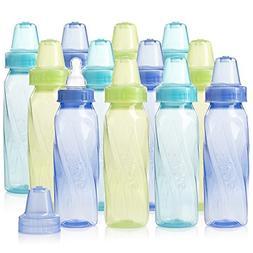 classic tinted plastic standard neck bottles
