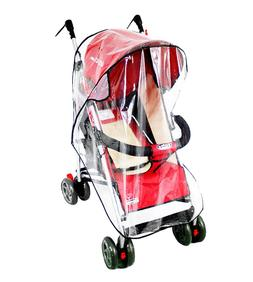 Clear Plastic Rain Cover Wind Shiled for Baby Carriage & Str