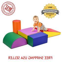 Climb Crawl Play Set Kids Toddlers Preschooler Gymnastics Sh